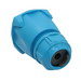 Meltric FH311 Decontactor™ Handle; 3/4 Inch NPT, Nylon, Blue
