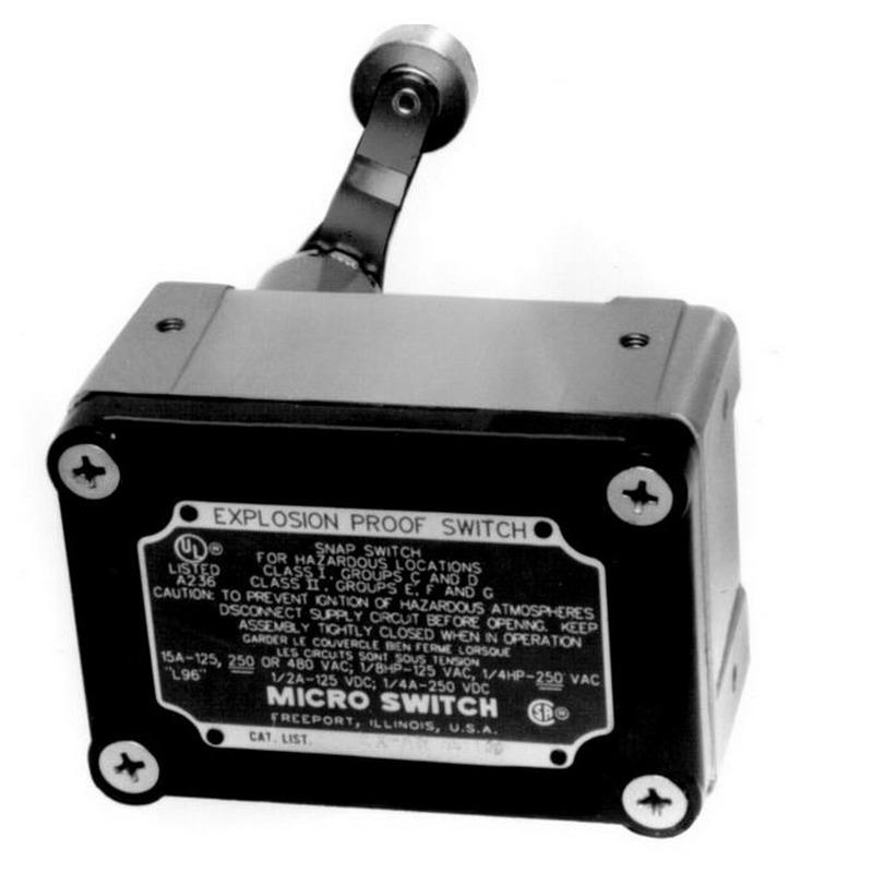 Honeywell Exd Ar 3 Micro Switch Limit Switch 2 Pole Dpdt