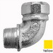 Midwest CG10090 750 CG Series 90 Degree Connector; 1 Inch, MNPT x Squeeze, Steel