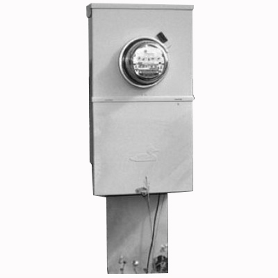 Midwest U281C1 Unmetered Service Entrance Equipment; 200 Amp, 120/240 Volt, 1-Phase, NEMA 3R, Surface Mount