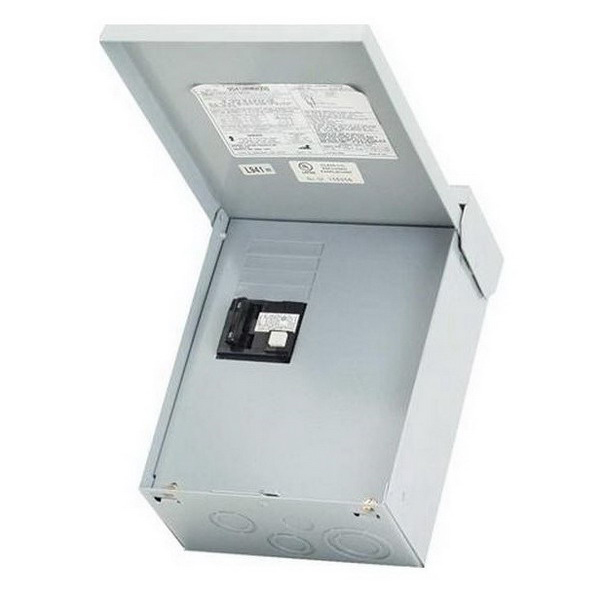 Electrical Panel Disconnect Switch Front Mount Disconnect: Midwest UG412RMW260 GFI Disconnect Spa Panel; 60 Amp, 120