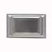 Pass & Seymour WPH8 Decorator Dustproof 1-Gang Cover; Wall Mount, Stainless Steel, Silver