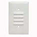 Pass & Seymour SS771-W Standard Size 1-Gang Wallplate; Wall Mount, 302/304 Stainless Steel, White