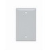 Pass & Seymour SP13-W Blank Wallplate; Box Mount, Thermoset Plastic, White