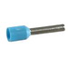Schneider Electric / Square D DZ5CE007 Single Conductor Insulated Cable End; 20 AWG, Blue