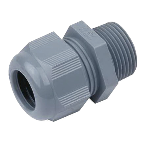 Thomas & Betts CC-ISO40-G Cooper Crouse-Hinds & reg Straight Liquidtight Cable Gland 0.748 - 1.100 Inch Dia Nylon