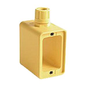 Woodhead / Molex 3059 Super-Safeway® 2 Sided Weatherproof Multiple Outlet Box; Rubber