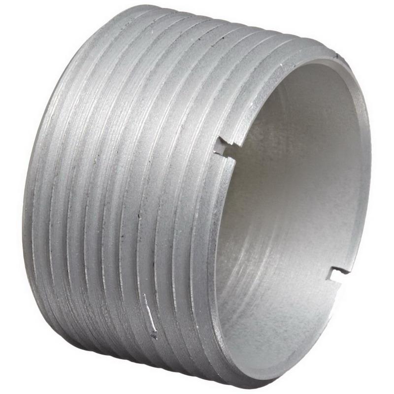 Woodhead / Molex 55-0496 Mini-Change® Threaded Adapter; 1-1/8 Inch, Anodized Aluminum