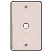 Hubbell Wiring NP11W Standard Size 1-Gang Wallplate; Box Mount, Nylon, White