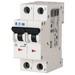 Eaton / Cutler Hammer FAZ-C3/2-NA Miniature Circuit Breaker; 3 Amp, 277/480 Volt AC, 125 Volt DC, 2-Pole, DIN Rail Mount
