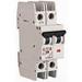 Eaton / Cutler Hammer FAZ-D6/2-NA Miniature Circuit Breaker; 6 Amp, 277/480 Volt AC, 125 Volt DC, 2-Pole, DIN Rail Mount