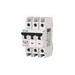 Eaton / Cutler Hammer FAZ-C5/3-NA Miniature Circuit Breaker; 5 Amp, 277/480 Volt AC, 125 Volt DC, 3-Pole, DIN Rail Mount