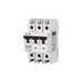 Eaton / Cutler Hammer FAZ-C10/3-NA Miniature Circuit Breaker; 10 Amp, 277/480 Volt AC, 125 Volt DC, 3-Pole, DIN Rail Mount