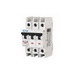 Eaton / Cutler Hammer FAZ-C15/3-NA Miniature Circuit Breaker; 15 Amp, 277/480 Volt AC, 125 Volt DC, 3-Pole, DIN Rail Mount