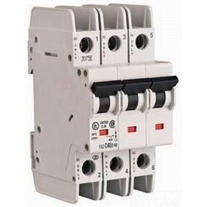 Eaton / Cutler Hammer FAZ-D10/3-NA Miniature Circuit Breaker; 10 Amp, 277/480 Volt AC, 125 Volt DC, 3-Pole, DIN Rail Mount
