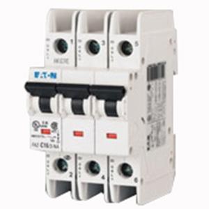 """""Eaton / Cutler Hammer FAZ-C40/3-NA Miniature Circuit Breaker 40 Amp, 277/480 Volt AC, 125 Volt DC, 3-Pole, DIN Rail Mount,"""""" 70695"