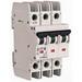Eaton / Cutler Hammer FAZ-D5/3-NA Miniature Circuit Breaker; 5 Amp, 277/480 Volt AC, 125 Volt DC, 3-Pole, DIN Rail Mount