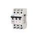 Eaton / Cutler Hammer FAZ-C63/3 Supplementary Protector; 63 Amp, 277 Volt AC, 48 Volt DC, 3-Pole, DIN Rail Mount