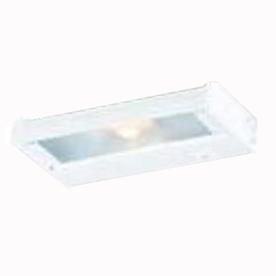 Troy NCAX-120-8WT CounterAttack 1-Light Surface Mount Xenon NCA Series Non-Linkable Under-Cabinet Light Fixture; 35 Watt, 120 Volt, 270 Lumens, White, Lamp Included