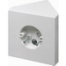 Arlington FB900 Non-Metallic Fan and Fixture Mounting Box; Ceiling Mount, 14.5 Cubic-Inch