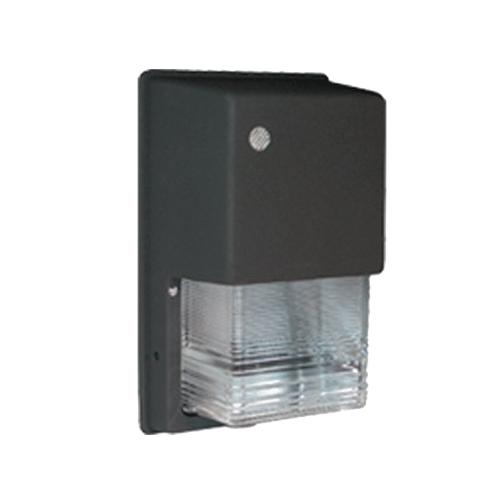 RAB WPTGHN70/PC 120 Volt Button Photocontrol Metal Halide Tallpack Wall Pack; 70 Watt, 5600 Lumens, Bronze, Lamp Included
