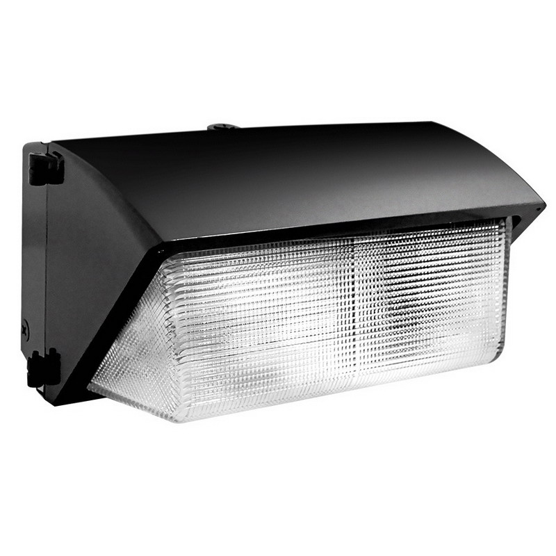 RAB WP3SC250QT-PC 120 Volt Button Photocontrol High Pressure Sodium Wall Pack 250 Watt  28500 Lumens  Bronze  Lamp Included