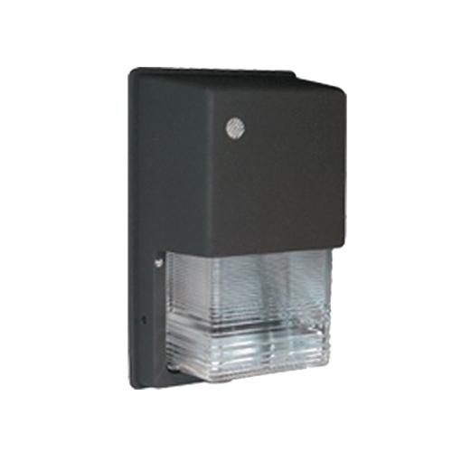 RAB WPTGHH100QT/PC 120 Volt Button Photocontrol Metal Halide Tallpack Wall Pack; 100 Watt, 9000 Lumens, Bronze, Lamp Included
