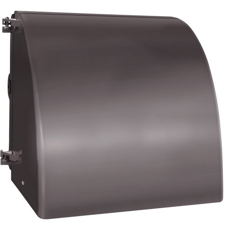 RAB WP1FCSN150 Full Cut-Off High Pressure Sodium Wall Pack; 150 Watt, 16000 Lumens, Bronze, Lamp Included
