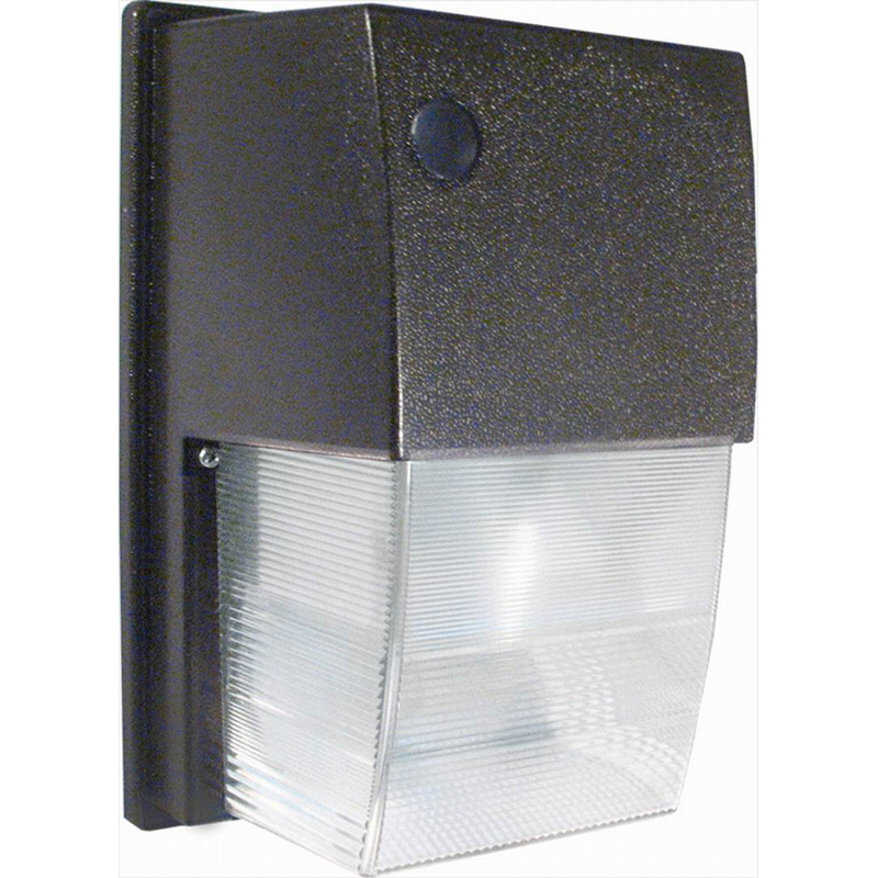 RAB WPTS50 Tallpack High Pressure Sodium Wall Pack Security Light; 50 Watt, 4000 Lumens, Bronze, Lamp Included