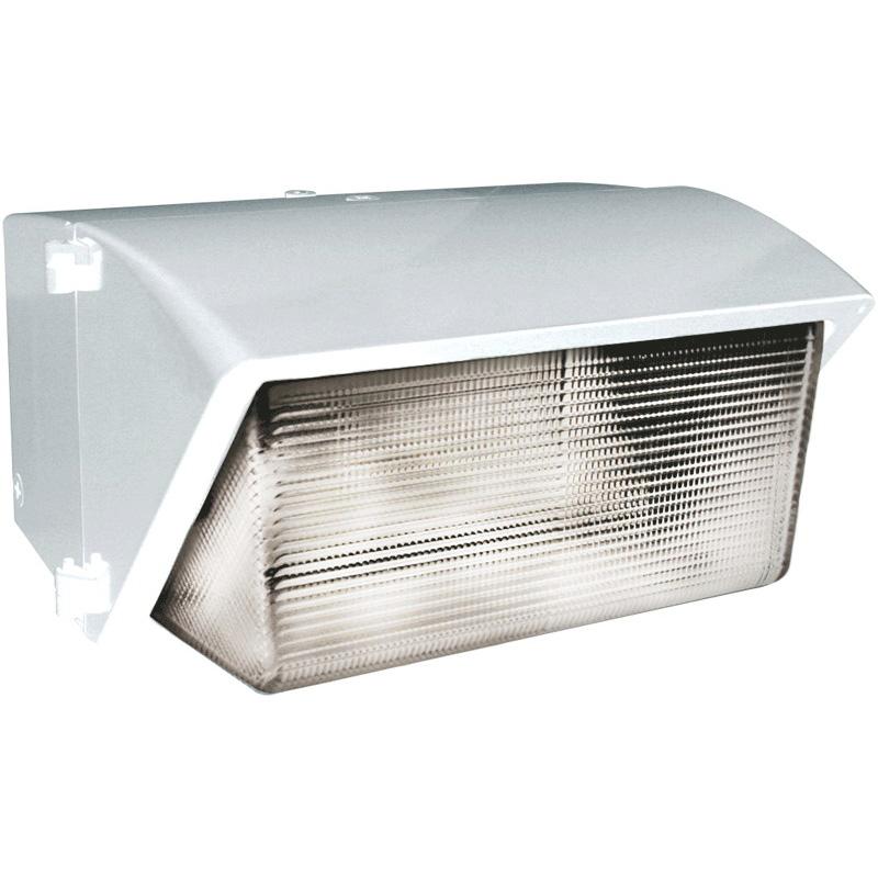 RAB WP4H400PSQW Metal Halide Wall Pack; 400 Watt, 40000 Lumens, White, Lamp Included