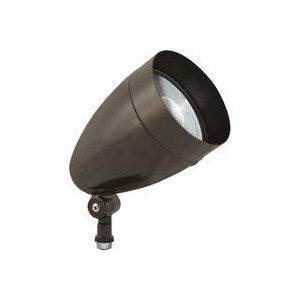 RAB HBLED10A LFLOOD® LED Landscape Outdoor Bullet Flood Light; 10 Watt, 338 Lumens, Bronze