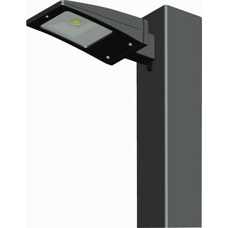 Rab Led Light Pole: RAB ALED10 LED Low Wattage Area Light; 10 Watt, 547 LM79