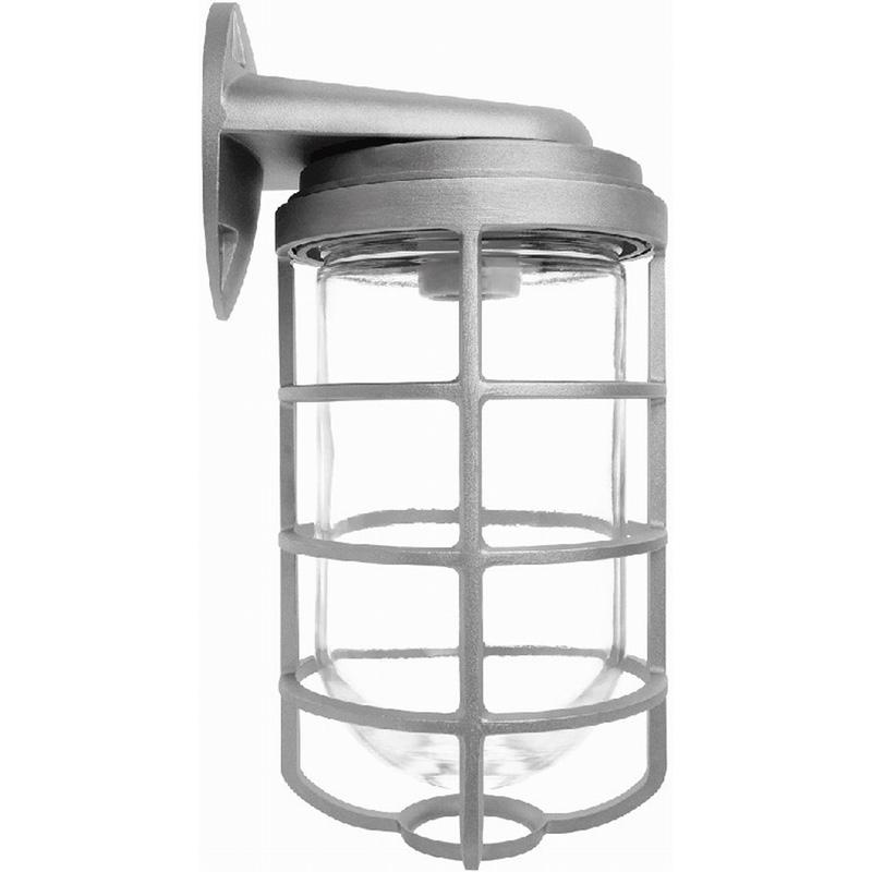 rab vbr200dg 1 light wall with bracket mount 200 series vaporproof cylinder entry light fixture. Black Bedroom Furniture Sets. Home Design Ideas