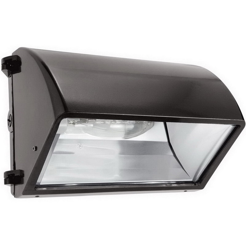 RAB WP2CH100QT Cut-Off Metal Halide Wall Pack 100 Watt, 9000 Lumens, Bronze, Lamp Included,""