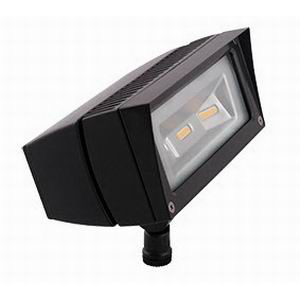 RAB FFLED18DC LFLOOD LED Solar Flood Light 18 Watt- 1681 Lumens- Bronze-