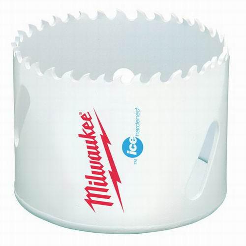 Milwaukee Tool  49-56-0183 Ice Hardened Bi-Metal Hole Saw 3-1/4 Inch- 1/Pack-