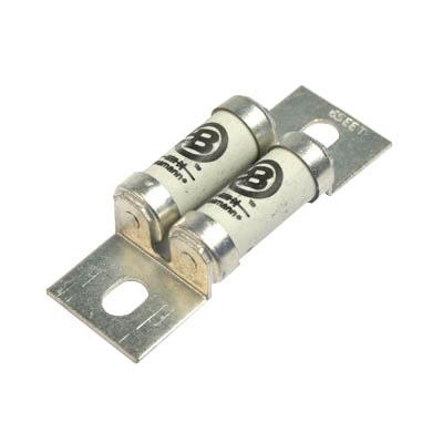 Bussmann 65EET Semiconductor Fuse 65 Amp  660 Volt AC  450 Volt DC  Stud Mount  Blade End
