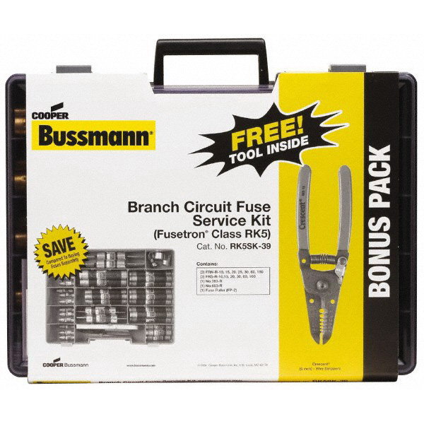 Bussmann GSK-260 Supplemental Glass Fuse Kit