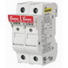 Bussmann CHM2DIU Modular Fuse Holder with Indicator; 30 Amp (UL) 32 Amp (IEC), 600 Volt AC (UL) 690 Volt AC (IEC), 2-Pole