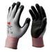 3M CGL-GU Comfort Grip General Use Gloves; Size 9/Large, Gray/Black