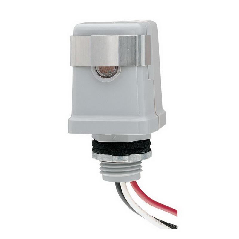 Intermatic K4123 K4100 Series Thermal Photocontrol; 208/277 Volt AC, Cadmium Sulfide Sensor