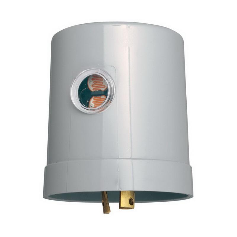 Intermatic K1221 K1200 Series Photocontrol; 105 - 130 Volt AC, Cadmium Sulfide Sensor