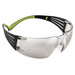 3M SF410AS-EA SecureFit™ 400 Series Protective Eyewear; Pressure Diffusion Temple Technology, UV Absorbent, Anti-Scratch, Frameless, Indoor/Outdoor Mirror Lens