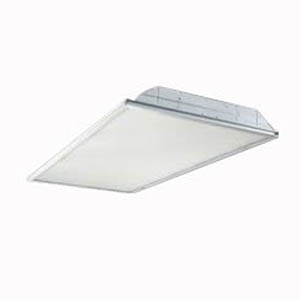Cooper Lighting 2GR-LD1-43-A-UNV-L840-CD1-U Metalux® Recessed Mount GR-Series LED Troffer; 49 Watt, 4300 Lumens, 2 ft, White, Unit Pack