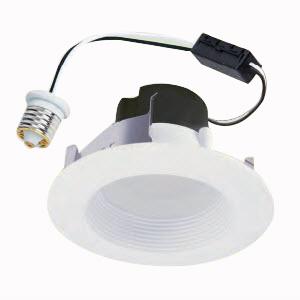 Cooper Lighting RL460WH830PK Halo® Recessed Mount RL4-Series 4 Inch LED Retrofit Module; 10.5 Watt, 600 Lumens, Matte White