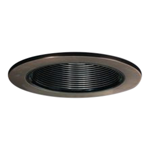 cooper lighting 993tbz halo 4 inch trim black baffle tuscan bronze