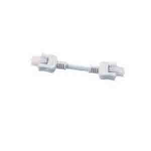 Cooper Lighting HU101P Daisy Chain Connector; White, 3 Inch, For Halo HU10 Series Undercabinet Lighting