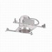 Cooper Lighting H5ICAT Air-Tite® Halo® Quickconnect™ IC H5 5 Inch Recessed Housing