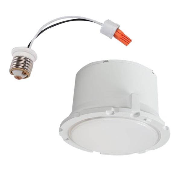 lighting ml5609827 halo 1 light recessed mount ml56 600 series led. Black Bedroom Furniture Sets. Home Design Ideas
