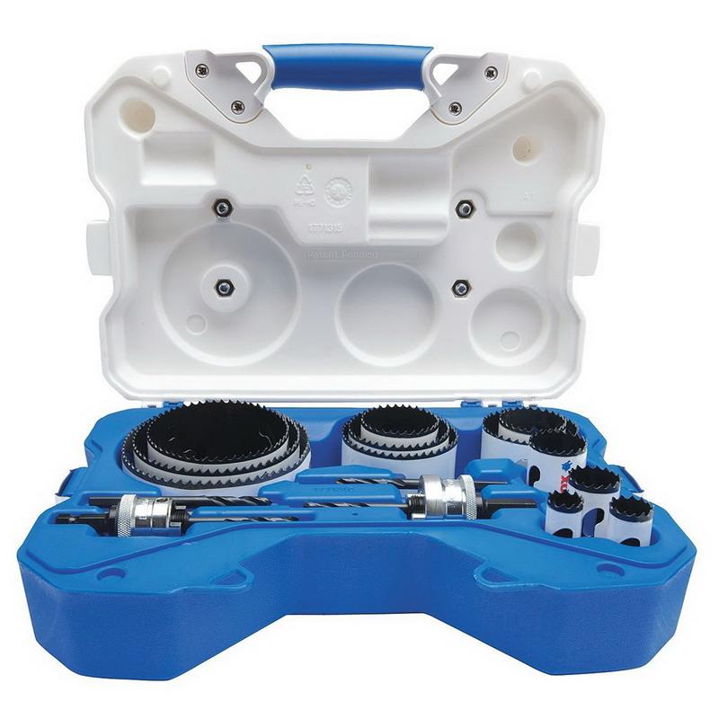 Lenox 308011200P Speed Slot 17-Piece Bi-Metal Plumbers Hole Saw Kit-